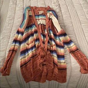 Billabong long cardigan